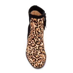 44242b403623 Splendid Shoes | Rosalie Chelsea Leopard Calf Hair Boots | Poshmark